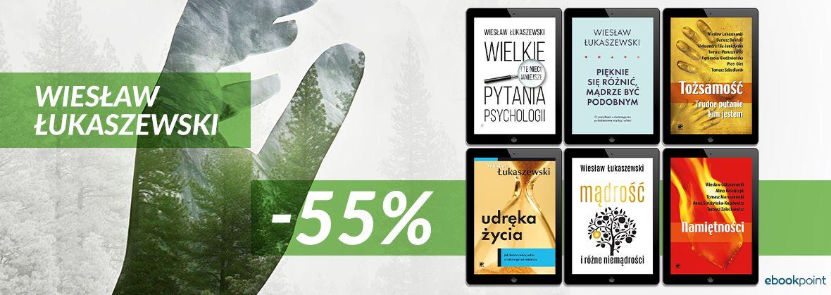 Promocja na ebooki Wiesław Łukaszewski / -55%